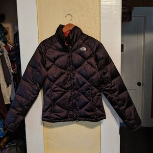 North Face down jacket size small